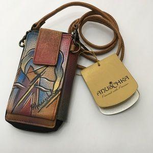 New Cross Body Zip Wallet by Anuschka